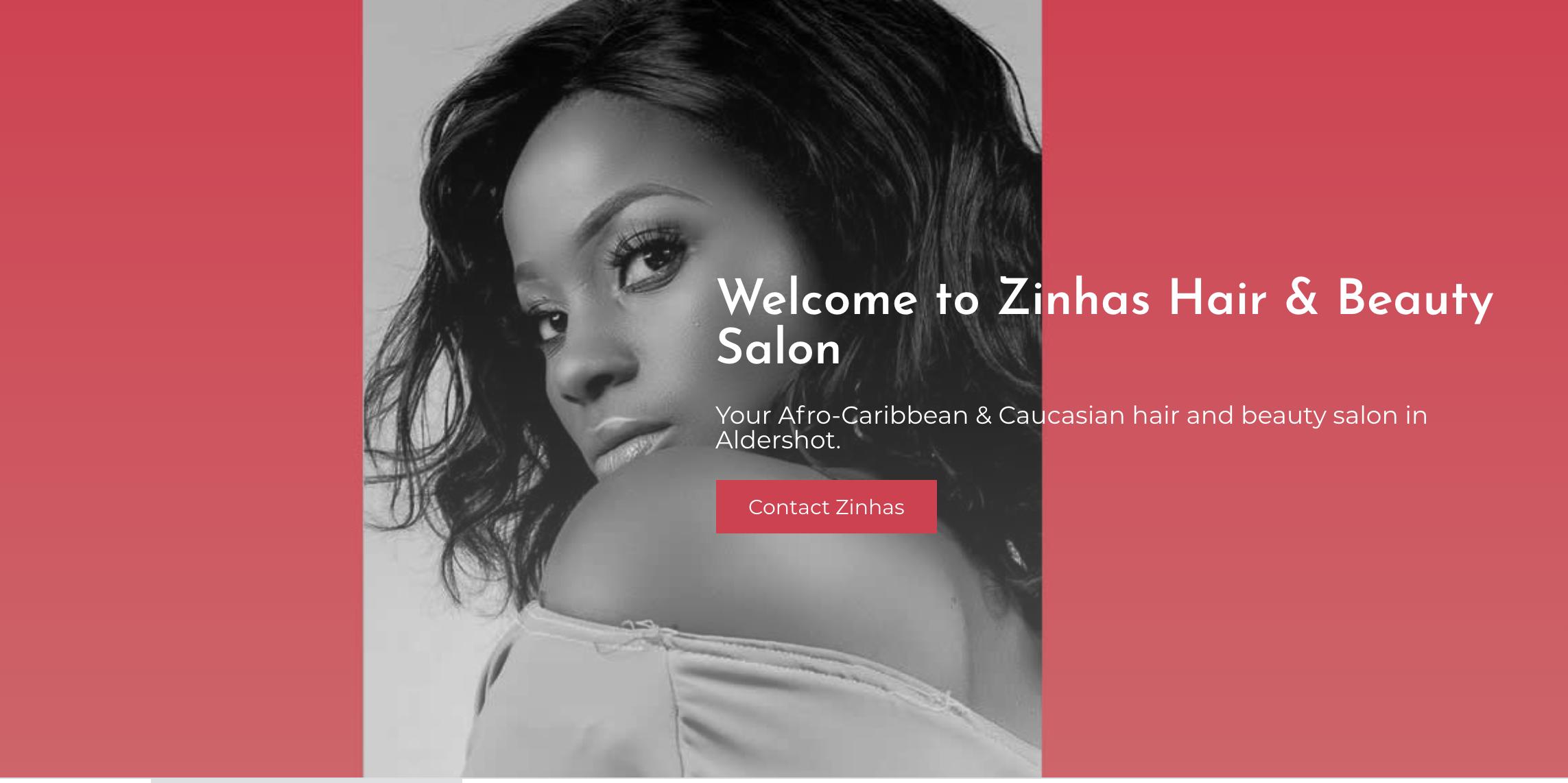 webwab-website-design-EC1-London-Zinhas-Hair-Salon