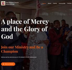 The Radiant Church International by WebWab