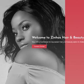 WebWab - Zinhas Hair and Beauty Salon